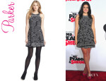 Ariel Winter's Parker 'Ebony' Fit And Flare Dress