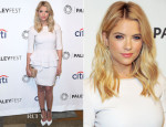 Ashley Benson In Alberta Ferretti - PaleyFest 2014 Honouring 'Pretty Little Liars'