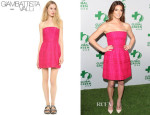 Ashley Greene's Giambattista Valli Strapless Dress