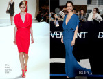 Ashley Judd In Elie Saab - 'Divergent' LA Premiere