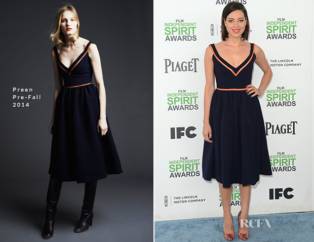 Aubrey Plaza In Preen - Film Independent Spirit Awards 2014