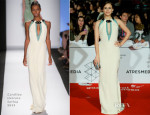 Aura Garrido In Carolina Herrera - Malaga Film Festival 2014 Closing Ceremony