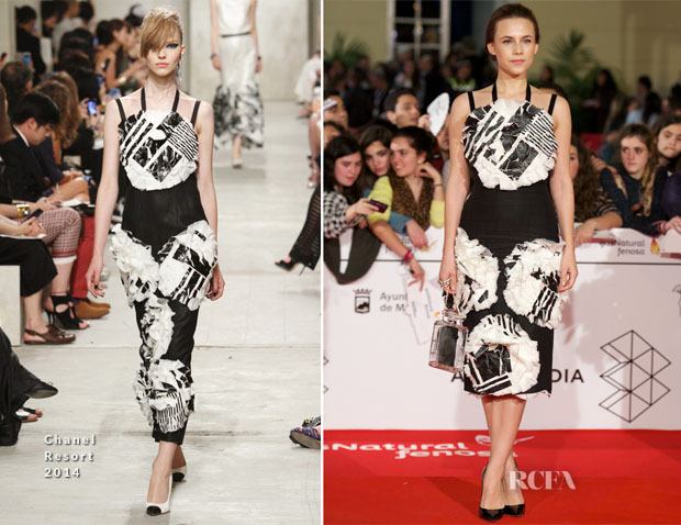 Aura Garrido In Chanel - 17th Malaga Film Festival 2014 Opening Ceremony