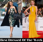 Best Dressed Of The Week - Miranda Kerr In Dolce & Gabbana and Ana de Armas In Zuhair Murad