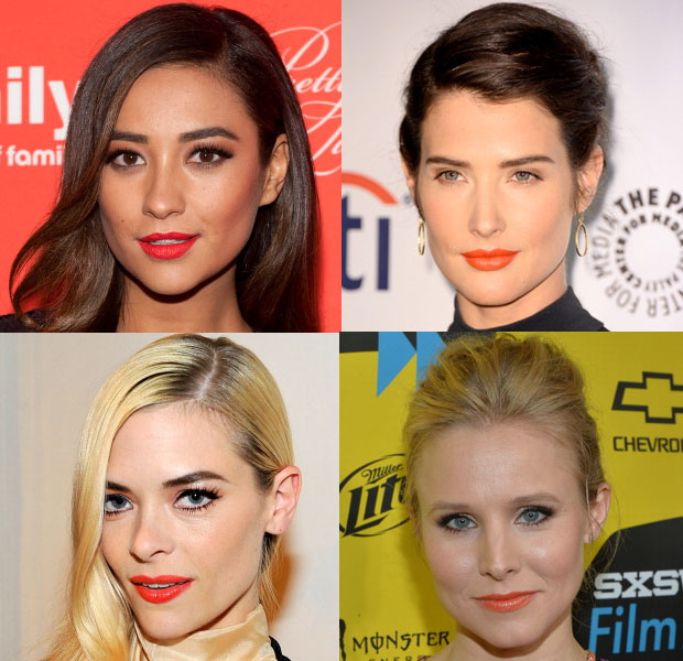 Beauty Trend Spotting Orange Lipstick
