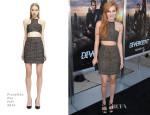 Bella Thorne In Franziska Fox - 'Divergent' LA Premiere