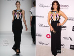 Bellamy Young In Alon Livné - Elton John AIDS Foundation Oscar Party