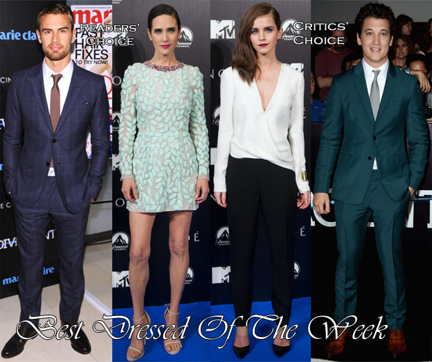 Best Dressed Of The Week - Jennifer Connelly In Giambattista Valli Couture & Emma Watson In J Mendel