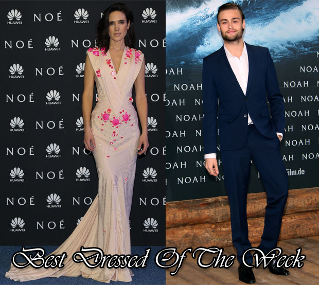 Best Dressed Of The Week - Jennifer Connelly In Givenchy Couture & Douglas Booth In Hugo Boss