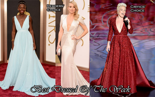 Best Dressed Of The Week - Lupita Nyong'o In Prada, Kate Hudson In Atelier Versace & Pink In Elie Saab Couture