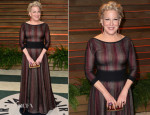 Bette Midler In Azzedine Alaia - Vanity Fair Oscar Party 2014