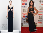 Brandy Norwood In Alexander McQueen - 45th NAACP Image Awards Non-Televised Awards