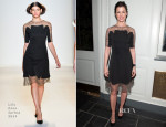 Bridget Moynahan In Lela Rose - Help USA's 2014 Tribute Awards Dinner