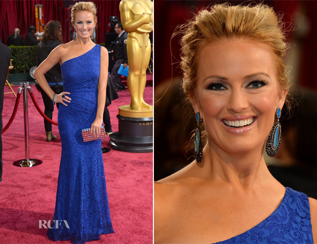 Brooke Anderson In David Meister - Oscars 2014