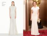 Calista Flockhart In Andrew Gn - Oscars 2014