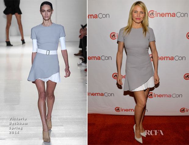 Cameron Diaz In Victoria Beckham - CinemaCon 2014 20th Century Fox Special