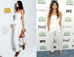 Camila Alves In Juan Carlos Obando - Film Independent Spirit Awards 2014