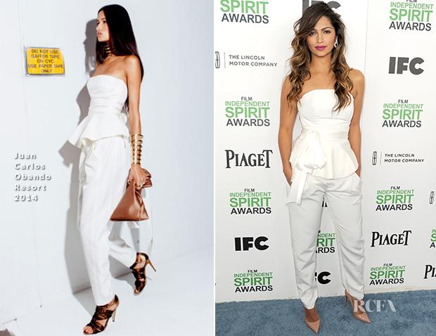 Camila Alves In Juan Carlos Obando - Film Independent Spirit Awards 2014