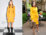 Camilla Belle In Gucci - Christian Louboutin Celebrates Launch of  'Passage' Handbag Collection