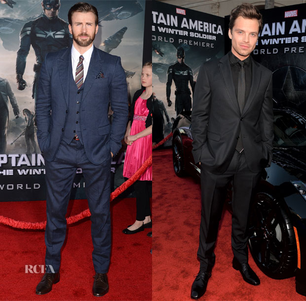 'Captain America The Winter Soldier' LA Premiere Red Carpet Roundup