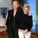 Cate Blanchett In Roland Mouret - The Ellen DeGeneres Show