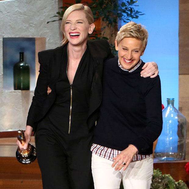 Cate-Blanchett-Interview-Ellen-DeGeneres-Post-Oscars-Show
