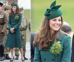 Catherine, Duchess of Cambridge In Hobbs -  St Patrick's Day Parade
