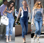 Celebrities Love...Denim Overalls