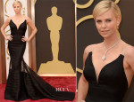Charlize Theron In Christian Dior Couture  - Oscars 2014
