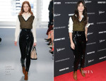 Charlotte Gainsbourg In Louis Vuitton - 'Nymphomaniac: Volume I' New York Screening