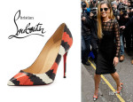 Cheryl Cole's Christian Louboutin 'So Kate' Pumps