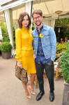Camilla Belle in Gucci and Brad Goreski