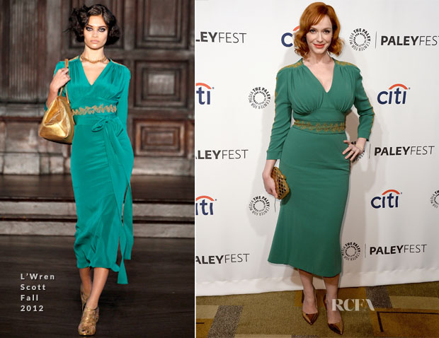 Christina Hendricks In L'Wren Scott - PaleyFest 2014 Honouring 'Mad Men'