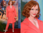 Christina Hendricks In Max Mara - 'The Pirate Fairy' LA Premiere