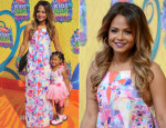 Christina Milian In Nasty Gal - Nickelodeon Kids' Choice Awards 2014