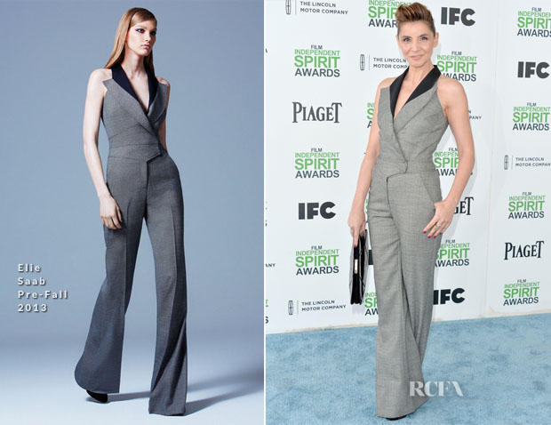 Clotilde Courau In Elie Saab - Film Independent Spirit Awards 2014