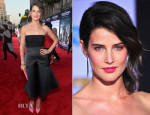 Cobie Smulders In Stella McCartney - 'Captain America: The Winter Soldier' LA Premiere