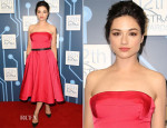 Crystal Reed In Escada - 12th Astra Awards