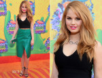 Debby Ryan In BCBG & Sportmax - Nickelodeon Kids' Choice Awards 2014
