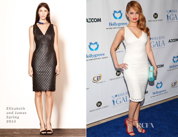 Debby Ryan In Elizabeth & James - 2nd Annual Norma Jean Gala