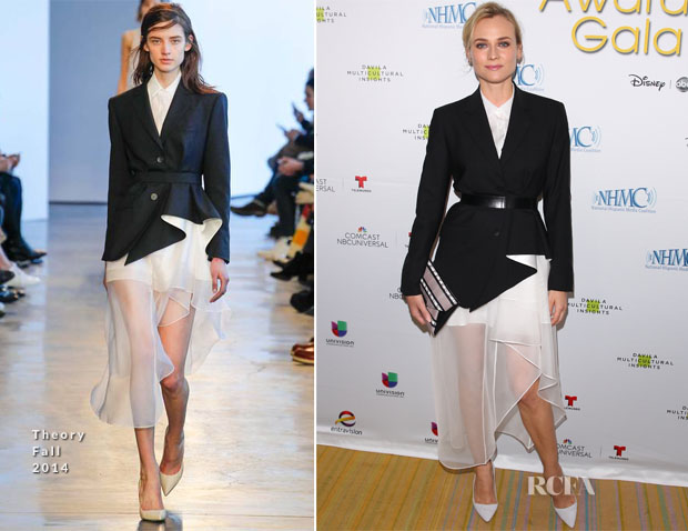 Diane Kruger In Theory - 17th Annual NHMC Impact Awards Gala