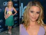 Dianna Agron In Miu Miu - 'Glee' 100th Episode Celebration