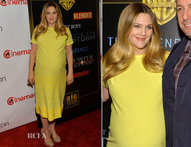 Drew Barrymore In Ludwig - CinemaCon 2014 Warner Bros