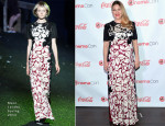 Drew Barrymore In Marc Jacobs - CinemaCon 2014: The CinemaCon Big Screen Achievement Awards