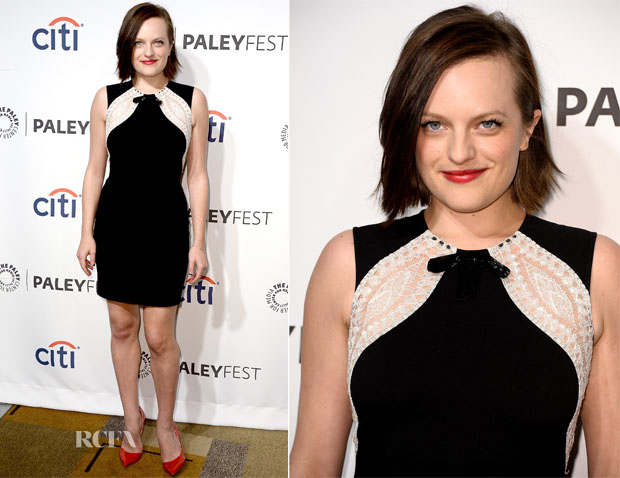 Elisabeth Moss In Emilio Pucci - PaleyFest 2014 Honouring 'Mad Men'