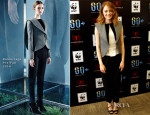 Emma Stone In Balenciaga - 'The Amazing Spider-Man 2' Earth Hour Kick-Off Event