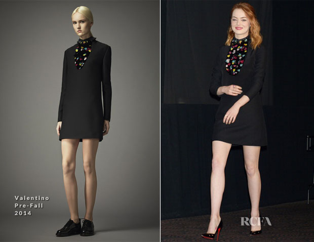 Emma Stone In Valentino - 'The Amazing Spider-Man 2 Rise Of Electro' Tokyo Press Conference