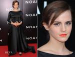 Emma Watson In Oscar de la Renta - 'Noah' New York Premiere
