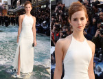 Emma Watson In Ralph Lauren Collection - 'Noah' London Premiere