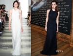 Emma Watson In Wes Gordon - 'Noah' Berlin Premiere